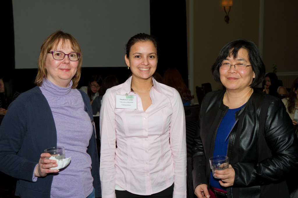 Barbara Read, Analecia Caylor (UH), and Liong So. Photo credit: Raburn Photography