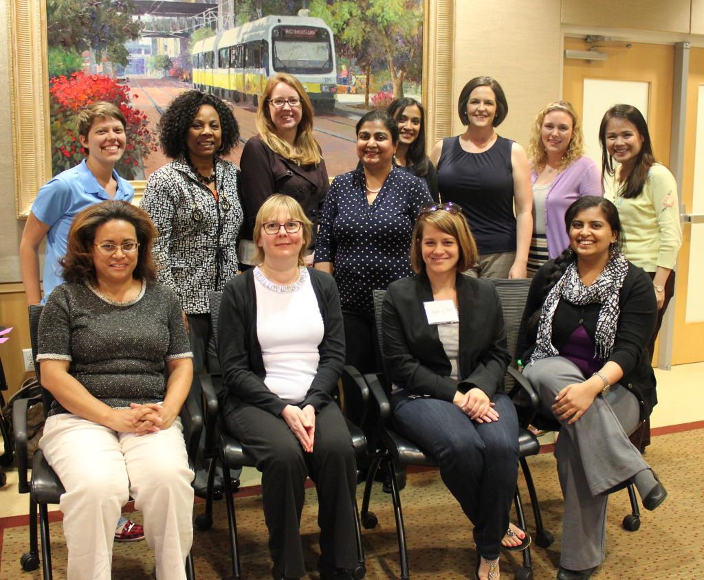 Great group at SMU!  Guest Speaker Jennifer Bell is lower left.
