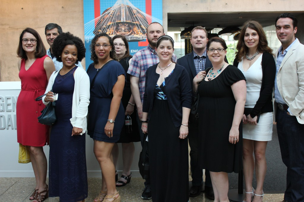 Dallas and Fort Worth SWE members at Perot's Social Science.