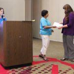 Scholarship recipient Naomi Beltrand
