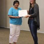 Scholarship recipient Liberty Schmidt